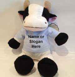 Personalised Teddy Bear - Daisy the Cow Soft Toy Animal